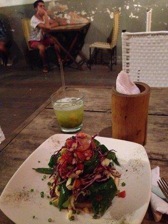 Lulo: Arepa Gourmet Romana (no esta el menu, pero gentilmente accedieron hacerla para mi)