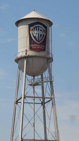 Warner Bros. Studio Tour Hollywood: Warner Brother's Water Tower
