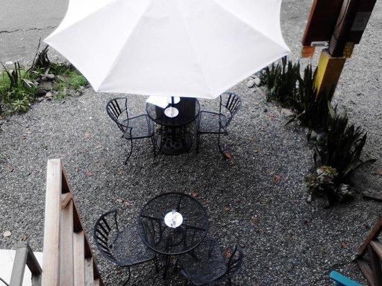 Lizard King Hotel Resort: Cafe Terrace