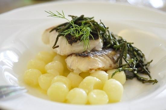 La Azotea: Hake and potatoes