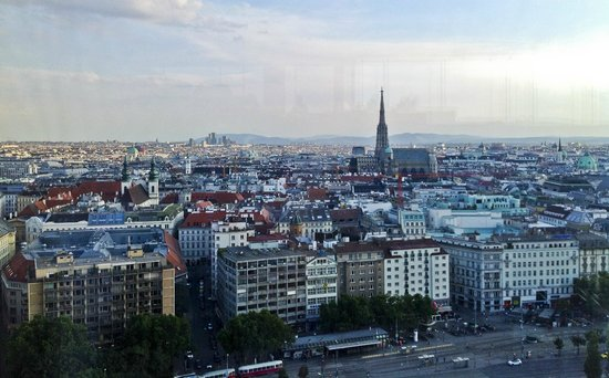 Sofitel Vienna Stephansdom - View from Top Floor, Le Loft