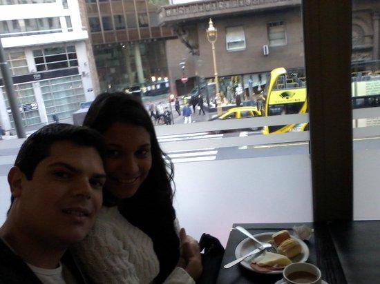 HR Luxor Buenos Aires: vista da área do café da manhã