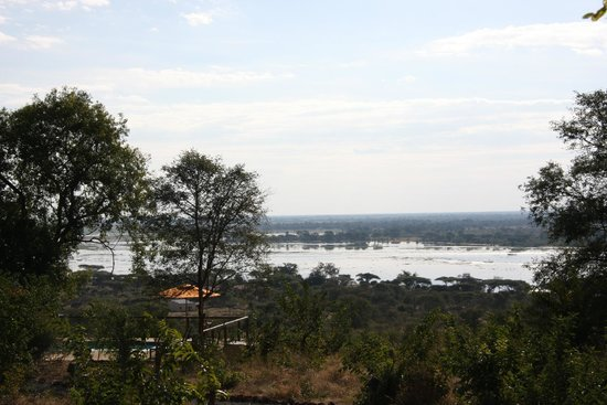 Chobe Elephant Camp: view from dining area