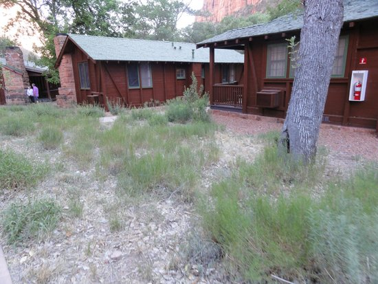 Zion Lodge : Cabins