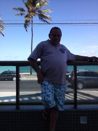 Ritz Suites: Piscina com vista para o mar, tudo de bom!!!!!!!!