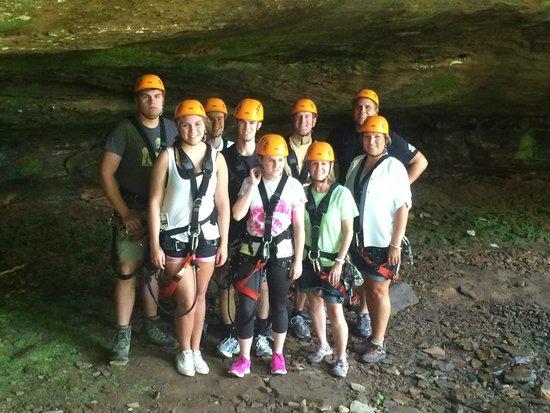 Soaring Cliffs Zip Line Course: Family Fun x 2