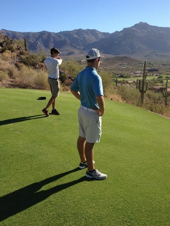 Gold Canyon Golf Resort: The course is in GREAT shape!