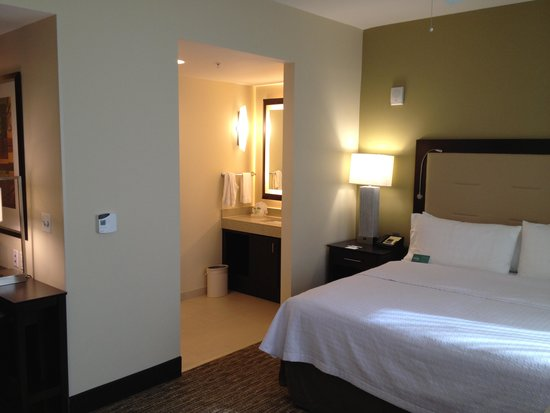 Homewood Suites by Hilton Dallas Downtown: King Studio Room view