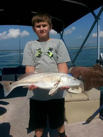 Catch-1 Charters - Capt. Shannon's Fishing Charters: Red Drun in Murrells Inlet SC