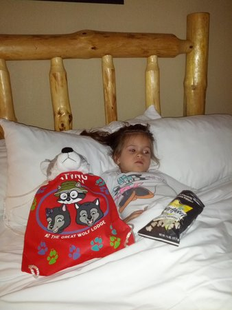 Great Wolf Lodge: Good night rest after an exciting day of splashing!