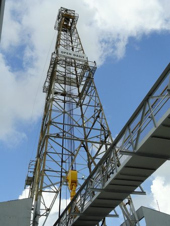 Ocean Star Offshore Drilling Rig & Museum : The tower when this used to be a working oil rig.