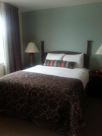 Staybridge Suites Rochester University : bedroom view