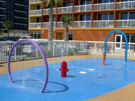 Hampton Inn Daytona Beach/Beachfront: kids splash park