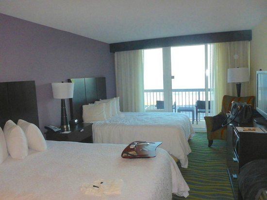 Hampton Inn Daytona Beach/Beachfront: Standard beachfront room
