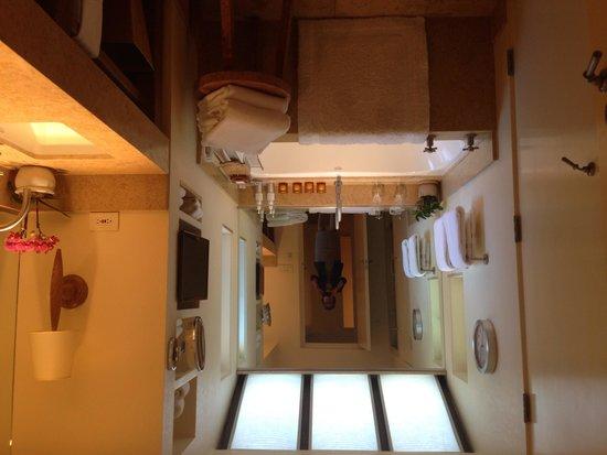 Auberge du Soleil: Villa/bathroom