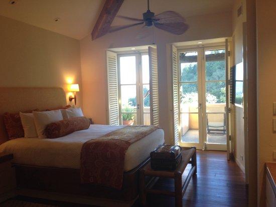 Auberge du Soleil: Bedroom
