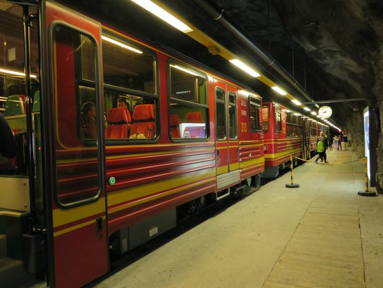 Jungfraujoch: Train to the top
