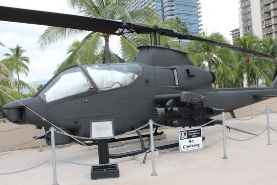 US Army Museum of Hawaii : helicoptor