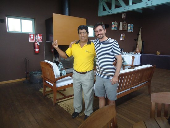 Chicama Surf Hotel & Spa: Me and Pedro