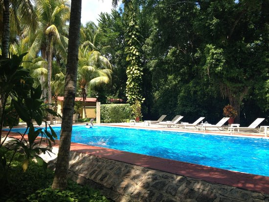 Hacienda Chichen: The pool