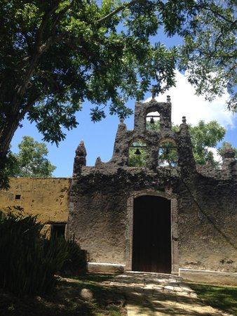 Hacienda Chichen: The mission at the Hacienda grounds