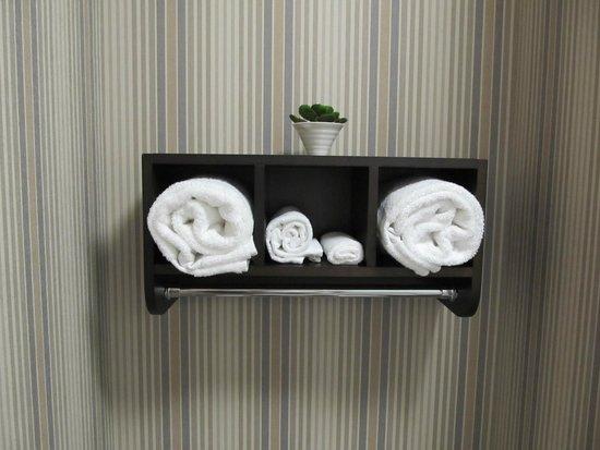 Hampton Inn Leesville/Ft. Polk: towels