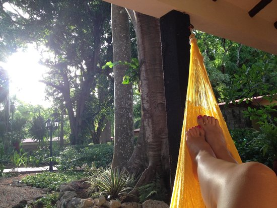Hacienda Chichen: Our hammock