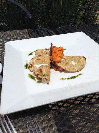 Belio Restaurant: taquitos de marlin
