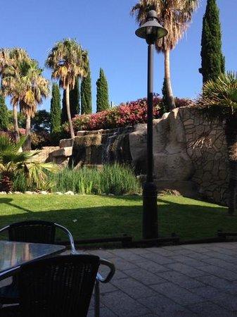 RV Hotel Ametlla Mar : El jardin