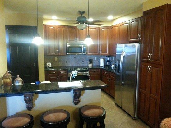 Wyndham Bonnet Creek Resort: Kitchen 1 bedroom presidential room 1106