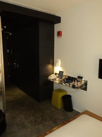Hotel Americano: View looking towards the door