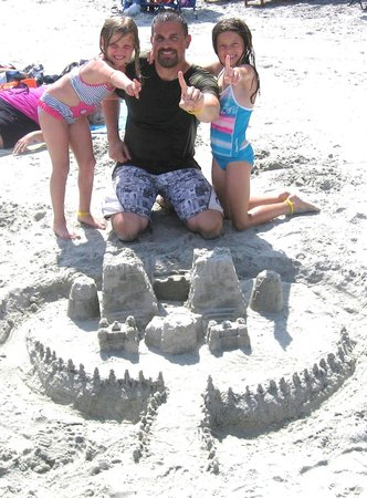 Bay Watch Resort & Conference Center: Bay Watch Sandcastle Contest winners!!  Prize: snowcones!