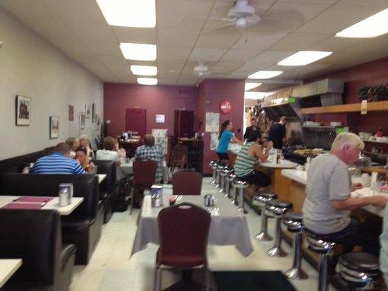 Water St. Cafe: Inside restaurant
