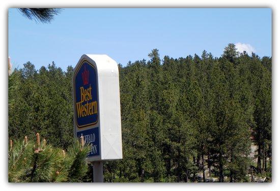 BEST WESTERN Buffalo Ridge Inn: Hotel Sign
