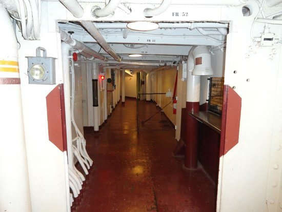 The halls inside the ship picture of battleship texas for La porte tx city hall