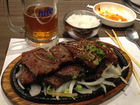 Young Dong Garden: BBQ shortribs
