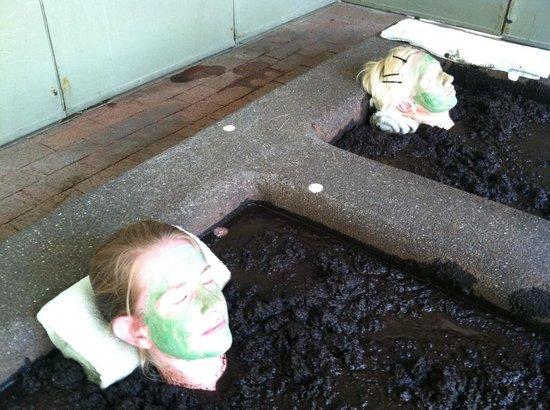 Two Bunch Palms: Mud Bath