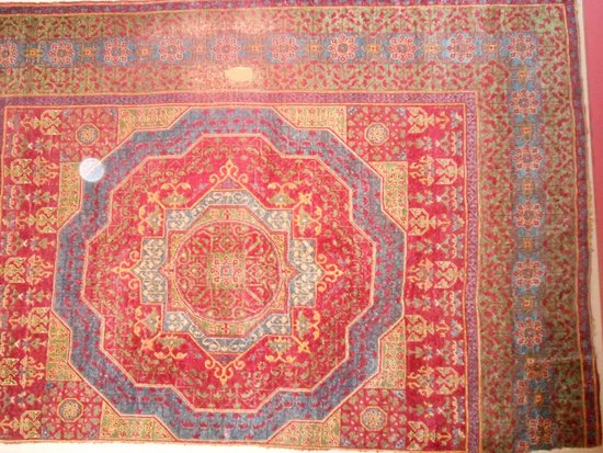 Museum Island: rug inside museum