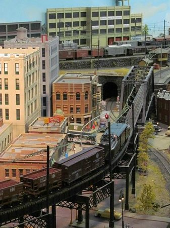 Railroad Museum of Pennsylvania : Model RR village at museum