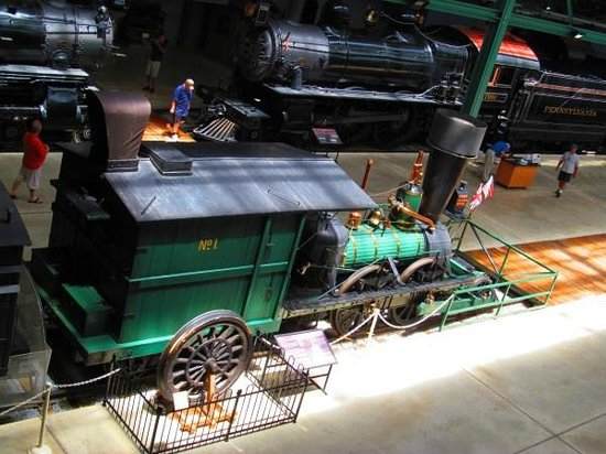 Railroad Museum of Pennsylvania: Early engine