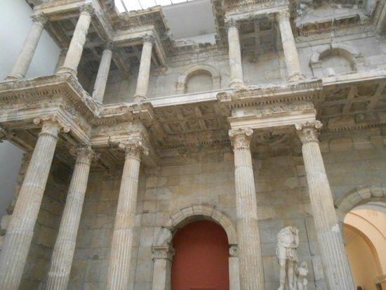 Museum Island: actual Roman ruins inside museum