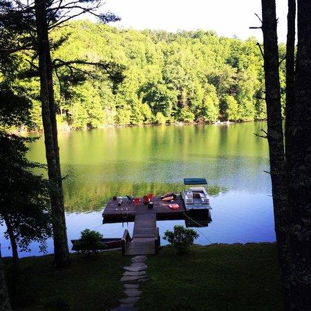 Lake Glenville : Buck Knob on Gkennville Lake