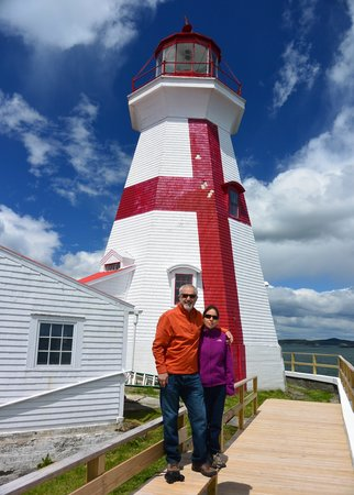 West Quoddy Head Station: East Quoddy Lighthouse