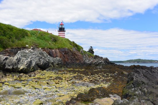 West Quoddy Head Station : West Quoddy Head Lighthouse