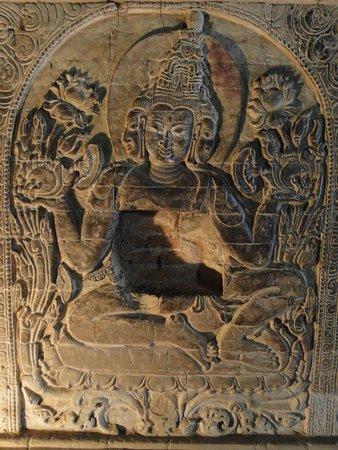 Nanpaya: Dentro do templo