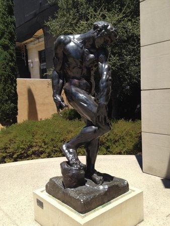 Rodin Sculpture Garden : Shy