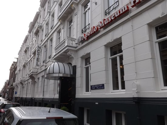 BEST WESTERN Apollo Museumhotel Amsterdam City Centre : Museum Hotel at the PC Hoofdstraat no.2