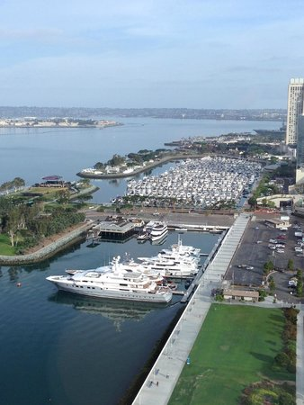 Hilton San Diego Bayfront: View from room