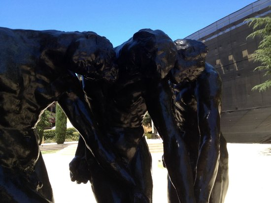 Rodin Sculpture Garden: 3 shades