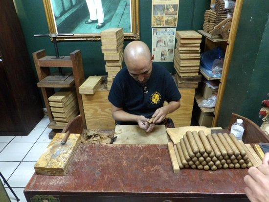 Cuba Tobacco Cigar Co: fabricando charutos